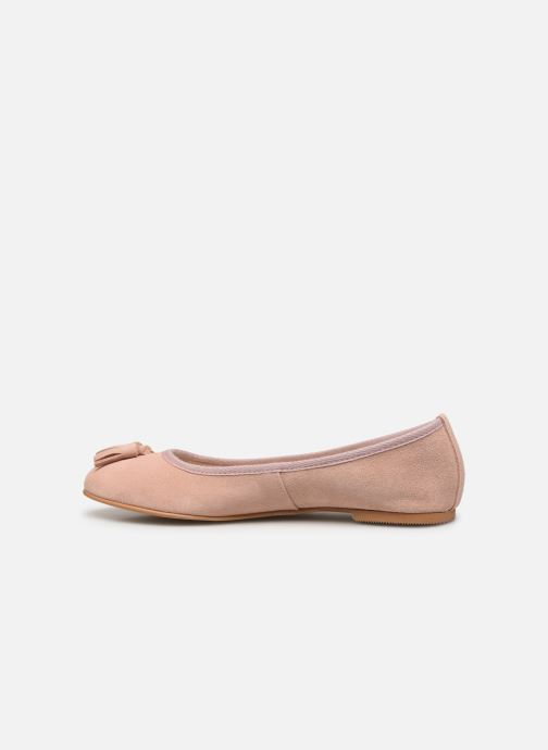 Ballerines Vero Moda Vmfreya Leather Ballerina Rose vue face