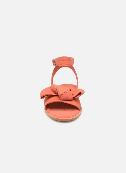 Sandalen Vero Moda Vmlila Leather Sandal Roze model