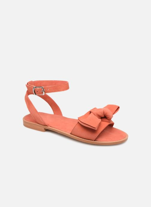 Sandalen Damen Vmlila Leather Sandal