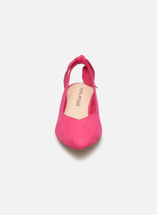 Zapatos de tacón Vero Moda Vmsue Pump Rosa vista del modelo