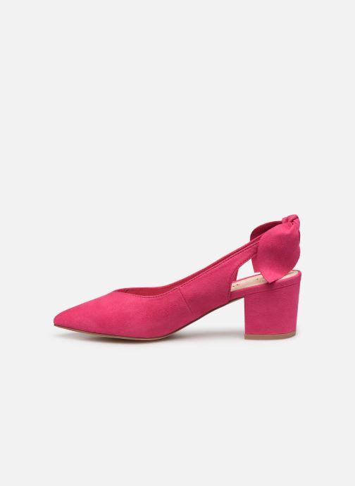 Zapatos de tacón Vero Moda Vmsue Pump Rosa vista de frente