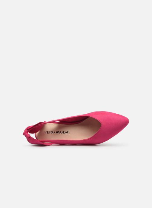 Zapatos de tacón Vero Moda Vmsue Pump Rosa vista lateral izquierda