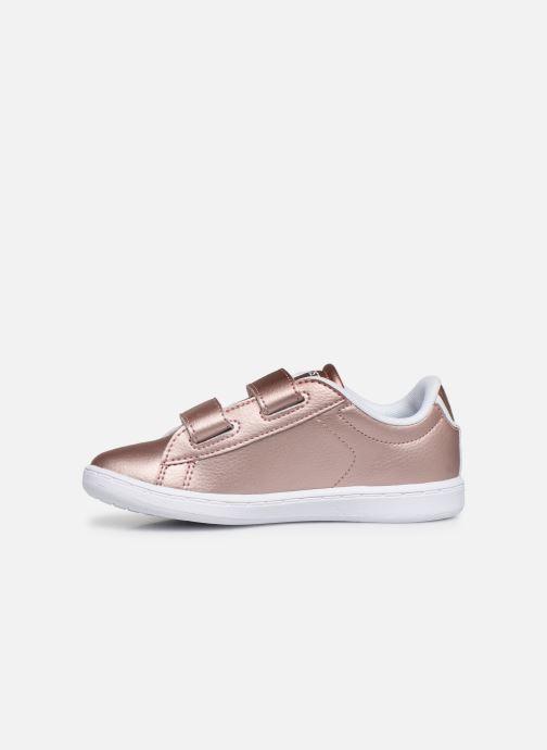 Sneaker Lacoste Carnaby Evo Strap 319 2 rosa ansicht von vorne