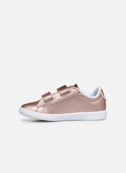 Baskets Lacoste Carnaby Evo Strap 319 2 Rose vue face