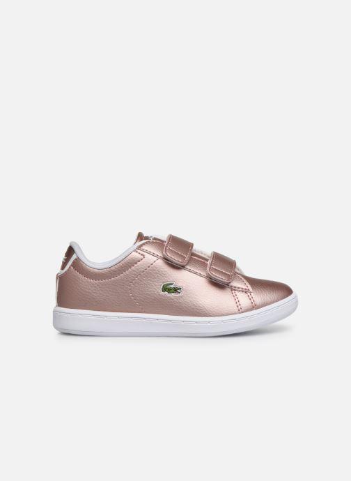 Sneaker Lacoste Carnaby Evo Strap 319 2 rosa ansicht von hinten