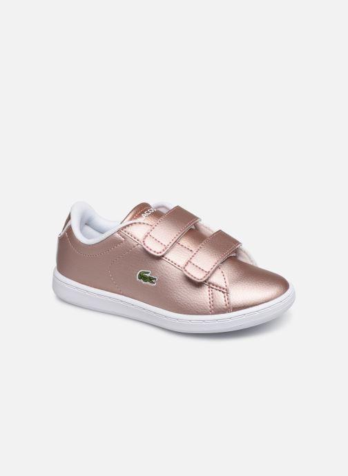 Sneaker Lacoste Carnaby Evo Strap 319 2 rosa detaillierte ansicht/modell