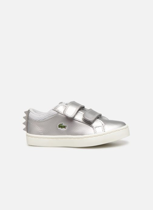 Sneakers Lacoste Straightset 319 1 Argento immagine posteriore