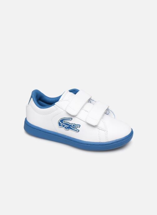 Baskets Lacoste Carnaby Evo 319 1 Blanc vue détail/paire