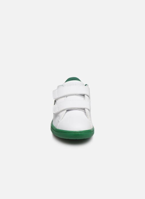 Baskets Lacoste Carnaby Evo 319 1 Blanc vue portées chaussures