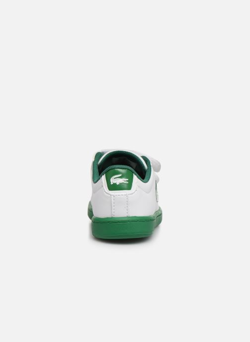 Baskets Lacoste Carnaby Evo 319 1 Blanc vue droite