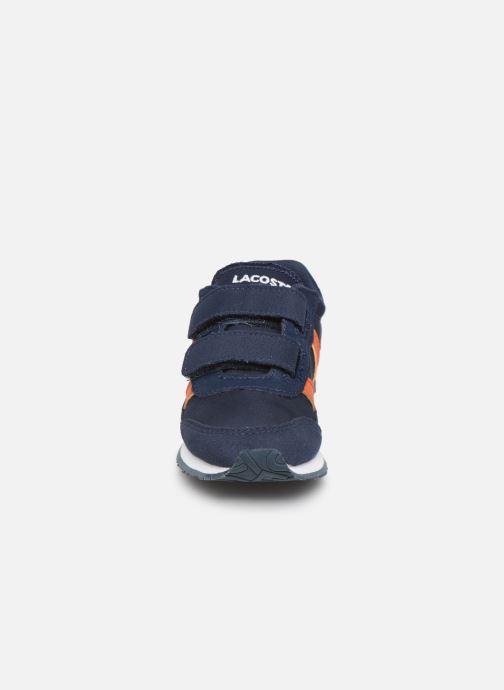 Baskets Lacoste Partner 319 1 Bleu vue portées chaussures
