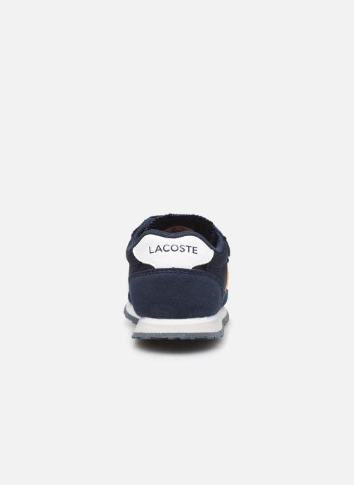 Sneaker Lacoste Partner 319 1 blau ansicht von rechts