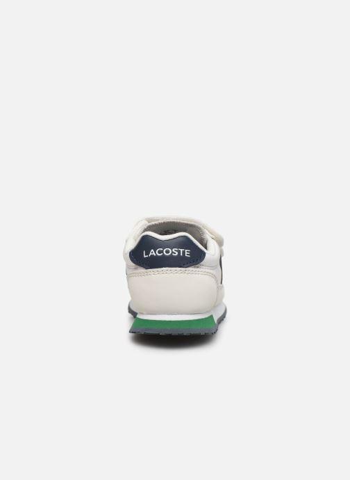 Baskets Lacoste Partner 319 1 Blanc vue droite