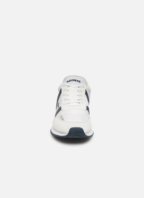 Baskets Lacoste Partner 319 1 Blanc vue portées chaussures