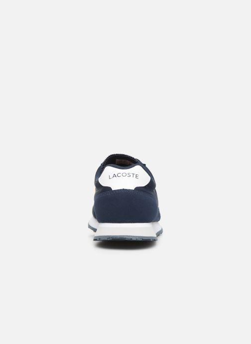 Baskets Lacoste Partner 319 1 Bleu vue droite