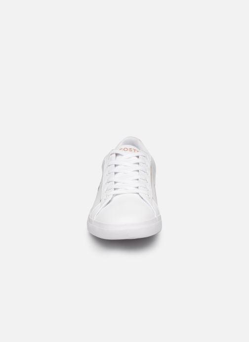 Baskets Lacoste Lerond 319 2 Blanc vue portées chaussures