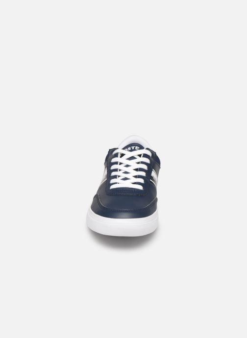 Baskets Lacoste Court-Master 319 1 Bleu vue portées chaussures