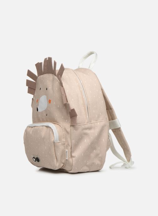 Scolaire Trixie Backpack Mrs. Hedgehog 31*23cm Beige vue portées chaussures