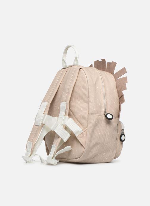 Scolaire Trixie Backpack Mrs. Hedgehog 31*23cm Beige vue droite