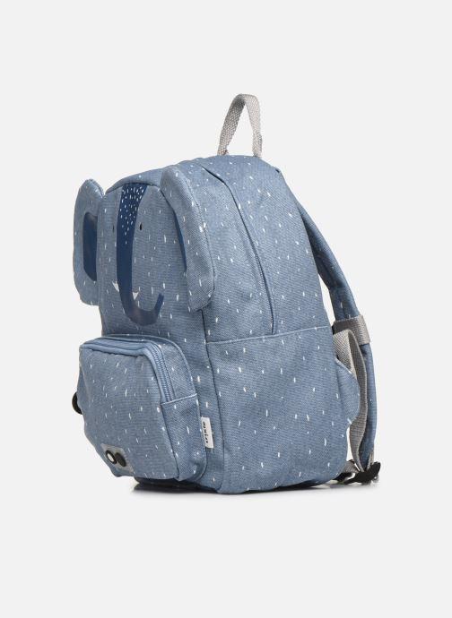 Scolaire Trixie Backpack Mrs. Elephant 31*23cm Bleu vue portées chaussures