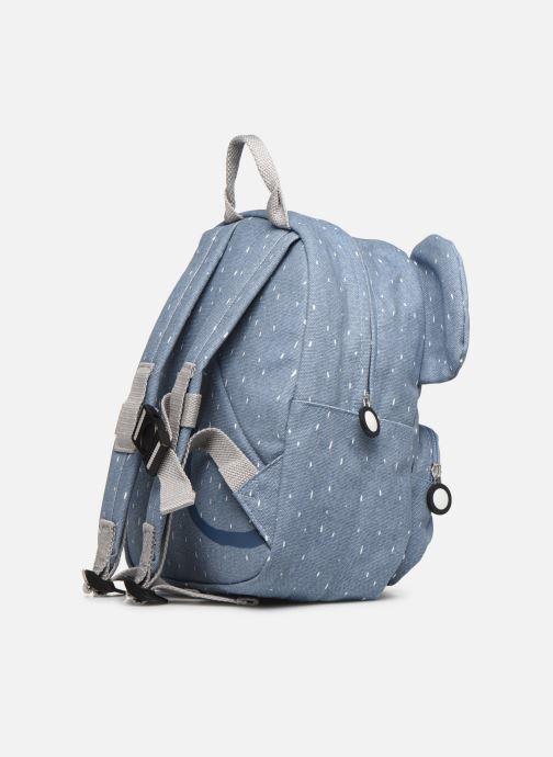 Scolaire Trixie Backpack Mrs. Elephant 31*23cm Bleu vue droite