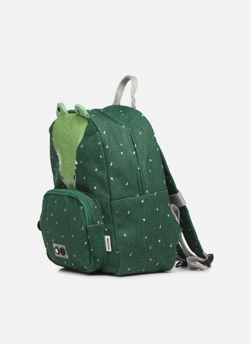 Scolaire Trixie Backpack Mr. Crocodile 31*23cm Vert vue portées chaussures