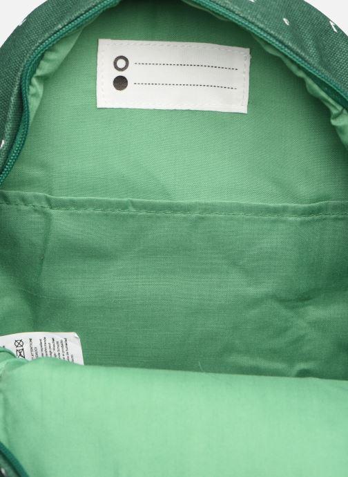 Scolaire Trixie Backpack Mr. Crocodile 31*23cm Vert vue derrière