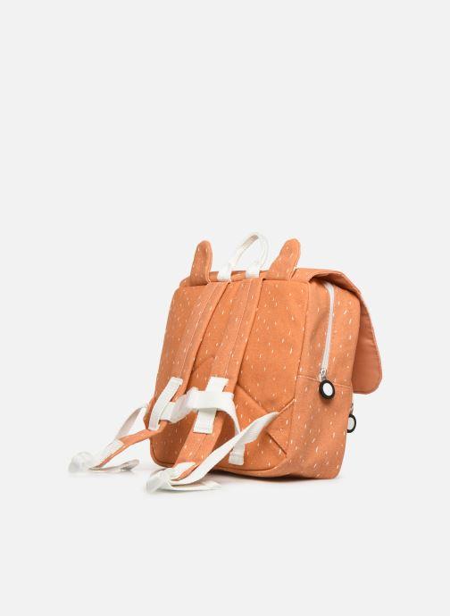Scolaire Trixie Satchel Mr. Fox  25*29cm Orange vue droite