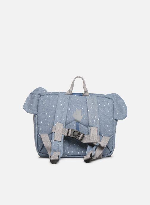 Scolaire Trixie Satchel Mrs. Elephant 25*29cm Bleu vue face