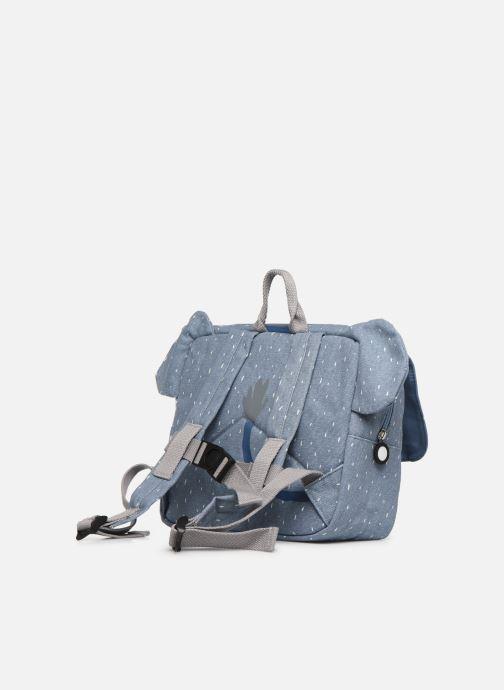 Scolaire Trixie Satchel Mrs. Elephant 25*29cm Bleu vue droite
