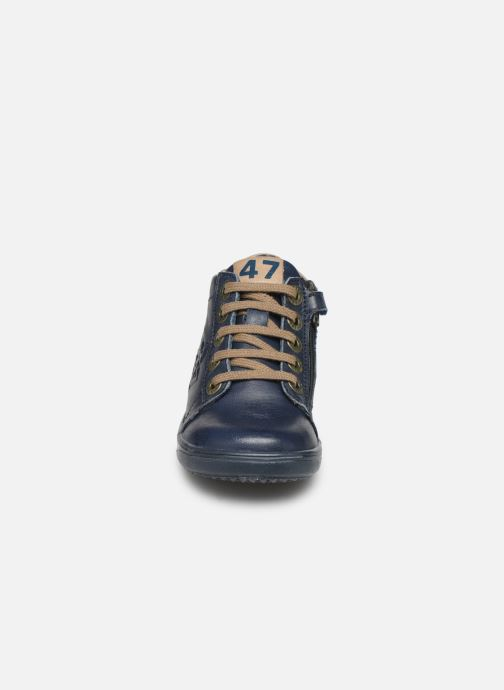 Bottines et boots Little Mary Jerome Bleu vue portées chaussures