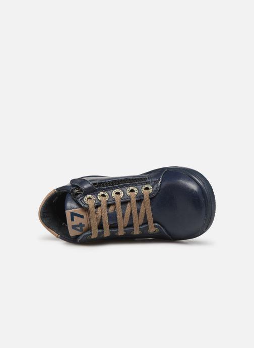 Bottines et boots Little Mary Jerome Bleu vue gauche