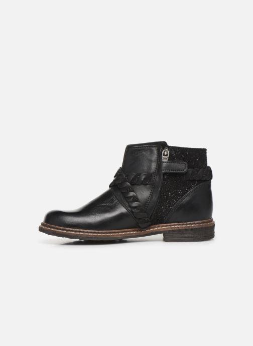 Bottines et boots Little Mary Jeny Noir vue face