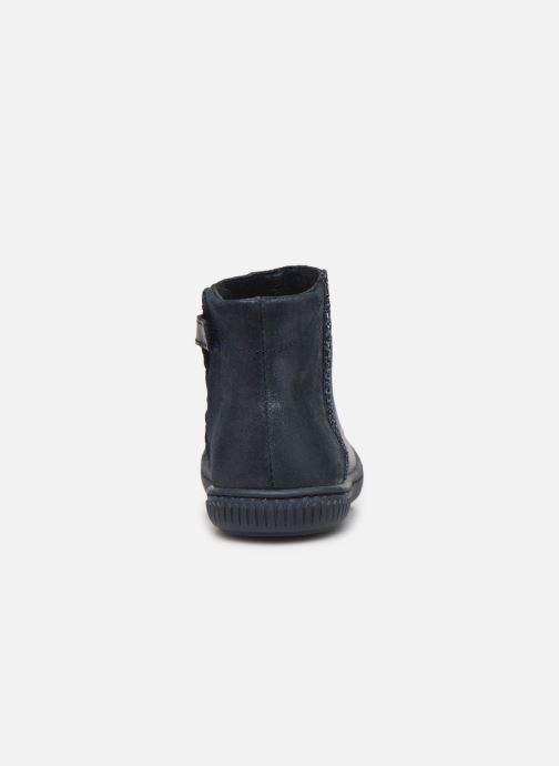 Bottines et boots Little Mary Jennifer Bleu vue droite