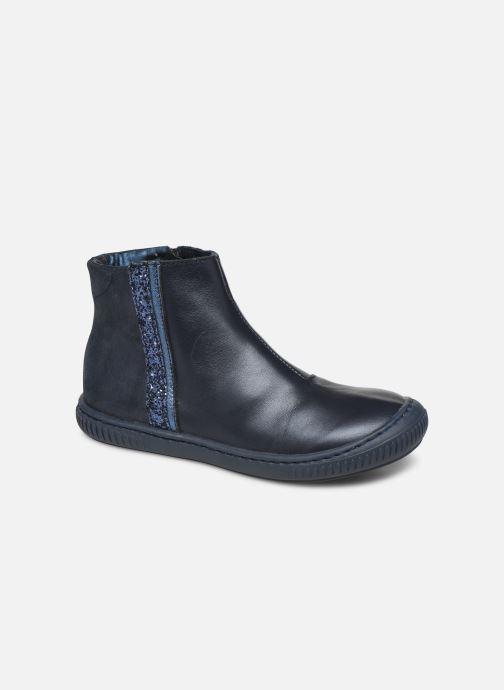 Bottines et boots Little Mary Jennifer Bleu vue détail/paire