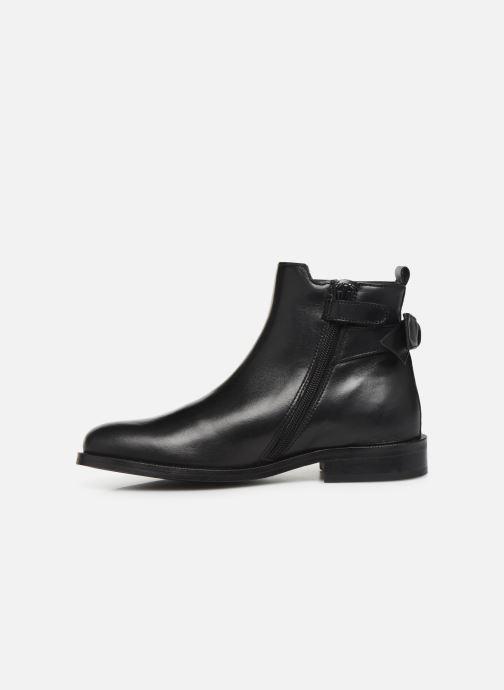 Bottines et boots Little Mary Justine Noir vue face