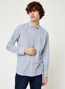 FLANNEL BRUSHED STRIPE SHIRT