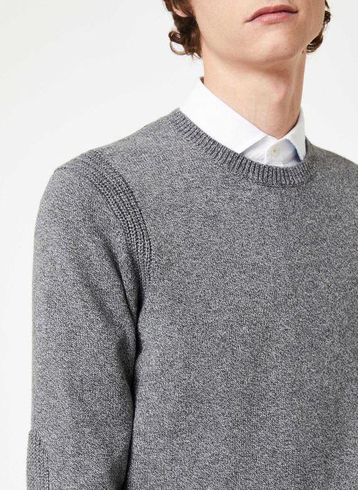 Vêtements Hackett London ARCADE CREW Gris vue face