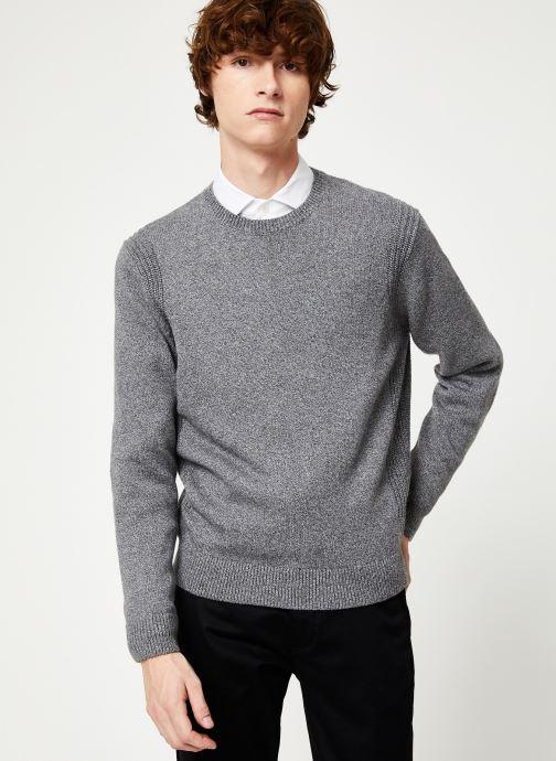 Vêtements Hackett London ARCADE CREW Gris vue droite