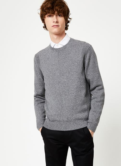 Vêtements Hackett London ARCADE CREW Gris vue détail/paire