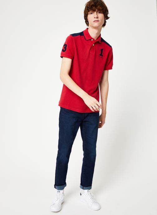 Vêtements Hackett London ARCHIVE 1234 Rouge vue bas / vue portée sac