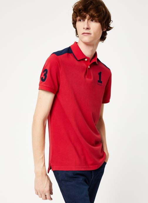 Vêtements Hackett London ARCHIVE 1234 Rouge vue droite