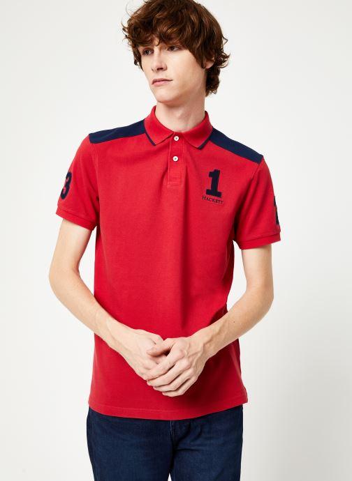 Vêtements Hackett London ARCHIVE 1234 Rouge vue détail/paire