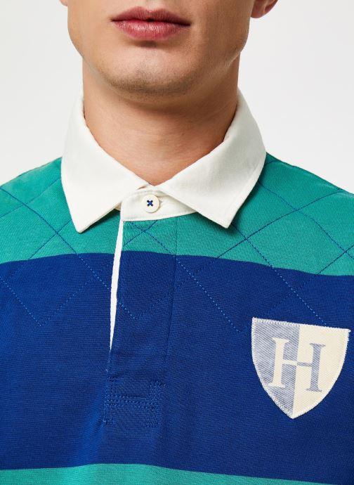 Vêtements Hackett London QUILT STR RBY Bleu vue face