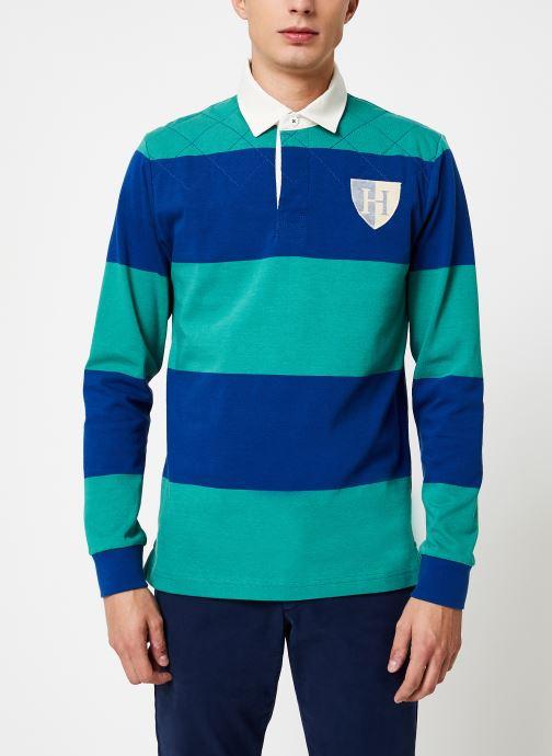 Vêtements Hackett London QUILT STR RBY Bleu vue détail/paire