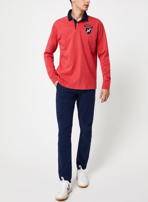 Vêtements Hackett London ARCHIVE UJK CLR Rouge vue bas / vue portée sac