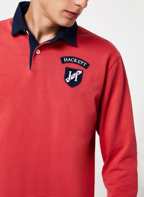 Vêtements Hackett London ARCHIVE UJK CLR Rouge vue face