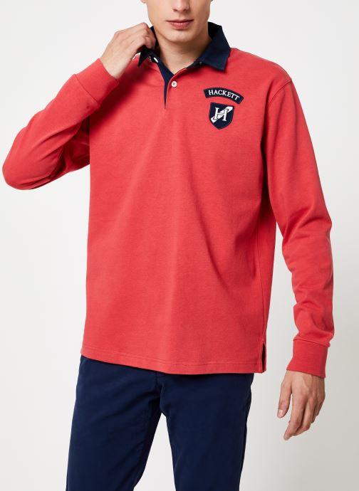 Vêtements Hackett London ARCHIVE UJK CLR Rouge vue droite