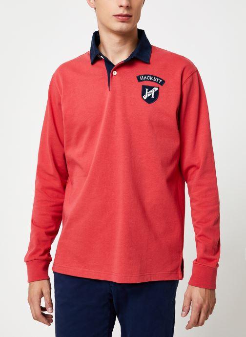 Vêtements Hackett London ARCHIVE UJK CLR Rouge vue détail/paire
