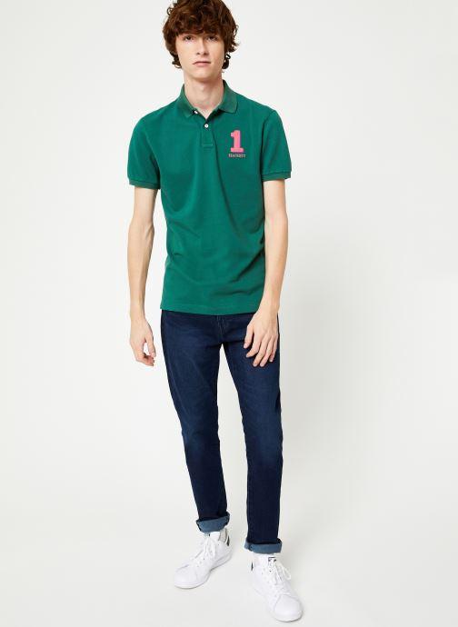 Vêtements Hackett London NEW CLASSIC Vert vue bas / vue portée sac